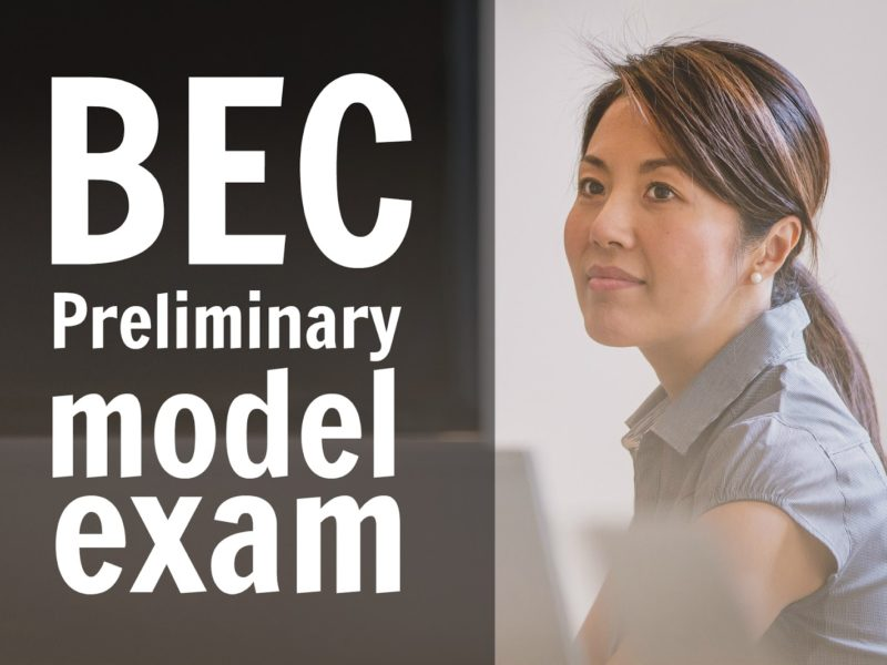 BEC preliminary model exam